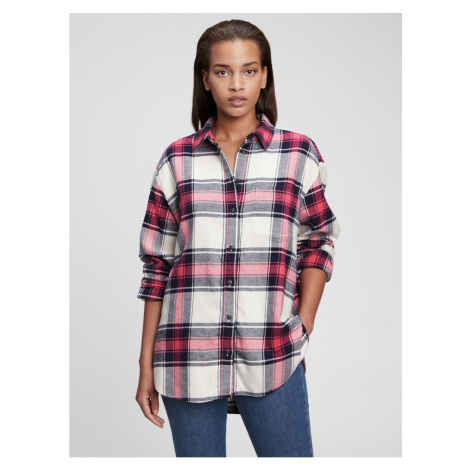 GAP Kostkovaná flanelová košile
