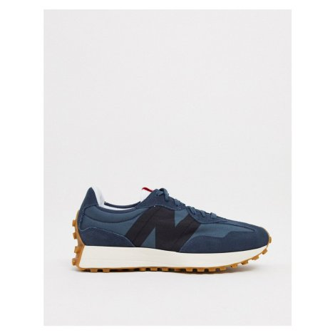 New Balance 327 trainers in denim blue