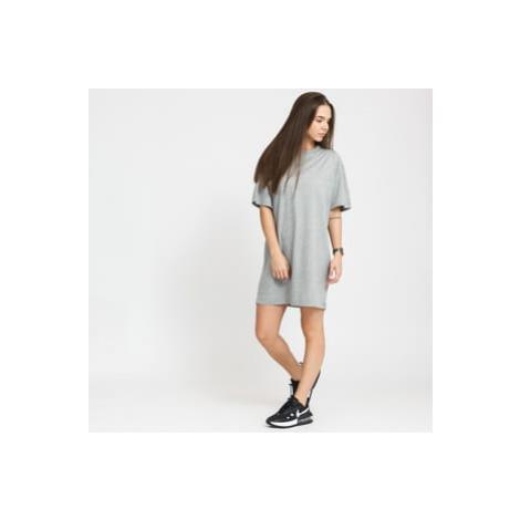 Nike W NSW Essential Dress melange šedé