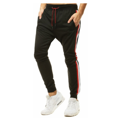 Men's black sweatpants UX2770 DStreet