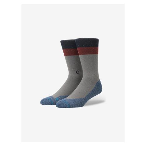 Atacama Crew Ponožky Stance Šedá