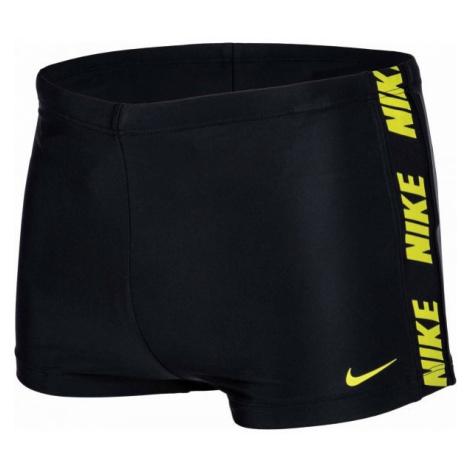 Nike LOGO SPLICE černá - Pánské plavky