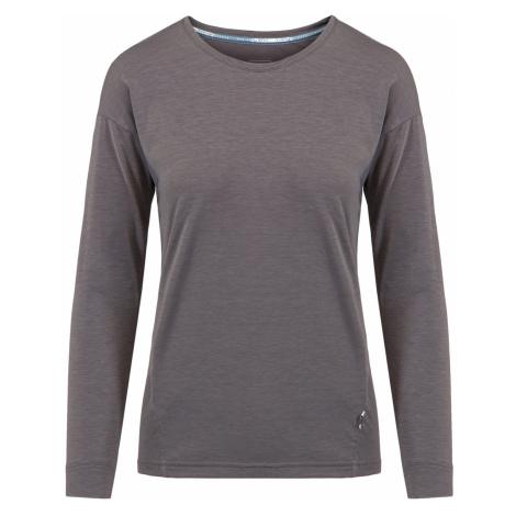 Tričko On Running COMFORT LONG-T WOMAN šedá