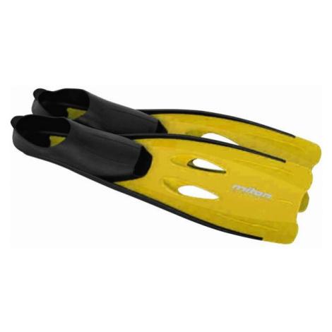 Miton WAVE žlutá - Potápěčské ploutve