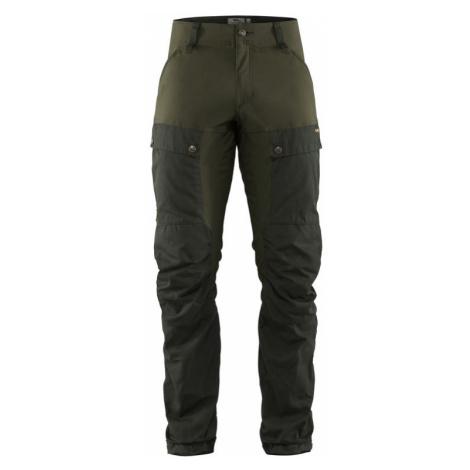 Kalhoty Fjällräven Keb Trousers REGULAR - Deep Forest / Laurel Green ()
