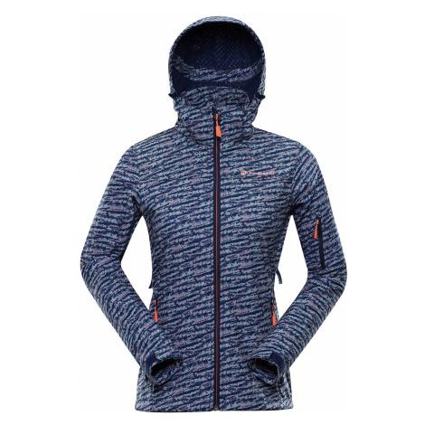 Dámská softshellová bunda Alpine Pro NOOTKA 7 - tmavě modrá