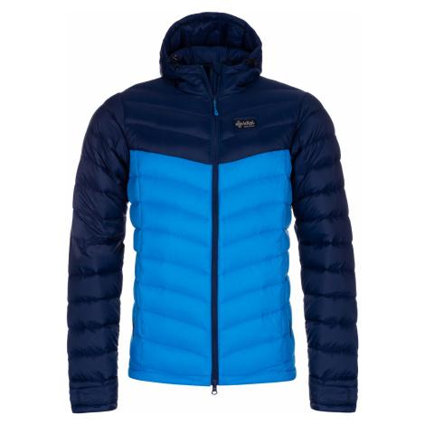 KILPI Pánská péřová bunda PYRAMIDEN-M LM0004KIBLU Modrá