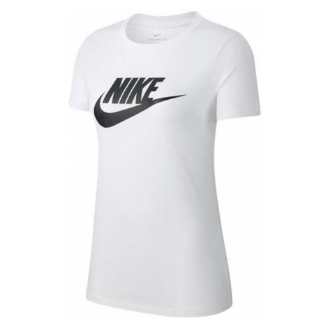 Dámské tričko Nike Sportswear Essential Bílá / Černá