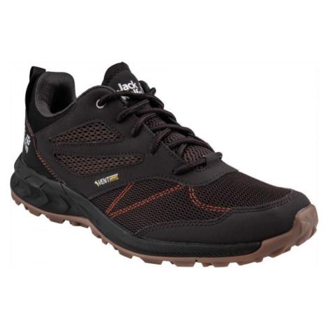 Jack Wolfskin WOODLAND VENT LOW černá - Pánská turistická obuv