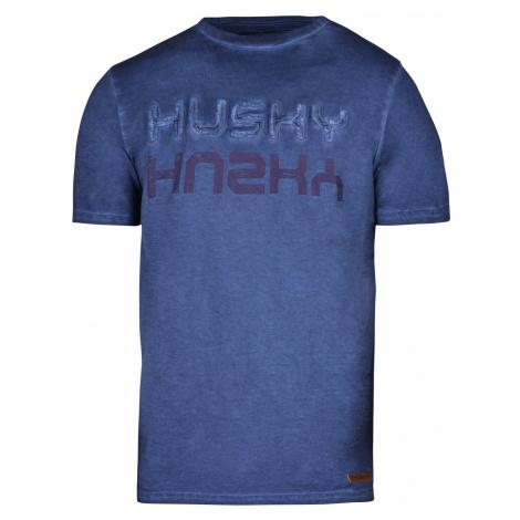 Husky Broker M, tm. modrá Pánské triko