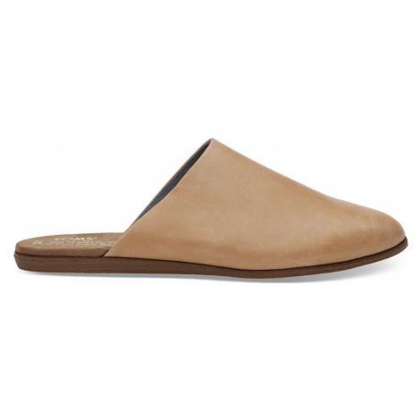 Toms Leather Jutti Mule hnědé 10011757