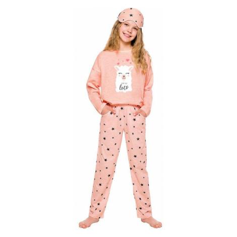 Dívčí pyžamo Sofie růžové s lamou Taro