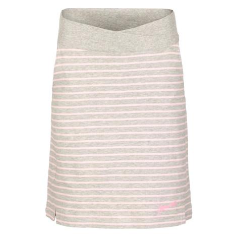 Dámská sukně Alpine Pro MANIQUA 2 - šedo-růžová
