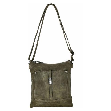 Dámská khaki kabelka ONE SIZE FPrice