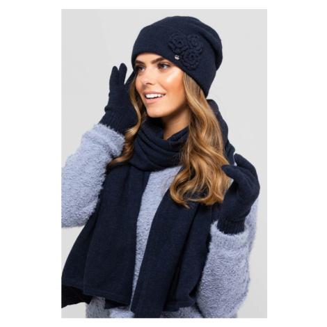 Kamea Woman's Hat K.19.013.12 Navy Blue