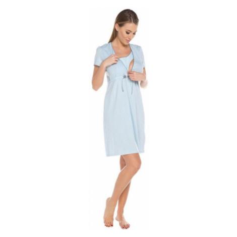 Dámská kojící košile Italian Fashion Felicita modrá | světle modrá