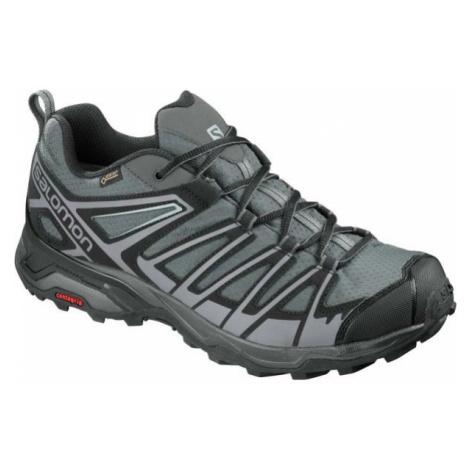 Salomon X ULTRA 3 PRIME GTX šedá - Pánská hikingová obuv