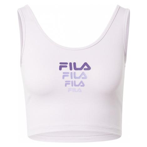 FILA Sportovní top 'ELIZA' pastelová fialová / tmavě fialová / šeříková