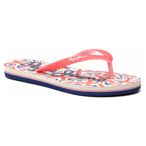 Žabky PEPE JEANS - Beach Uk PGS70027 Red 255