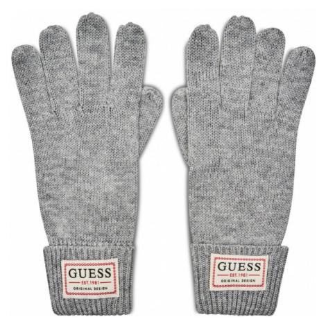 Guess Guess pánské šedé rukavice