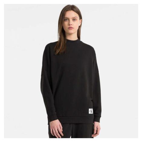 Černá mikina Monogram Calvin Klein