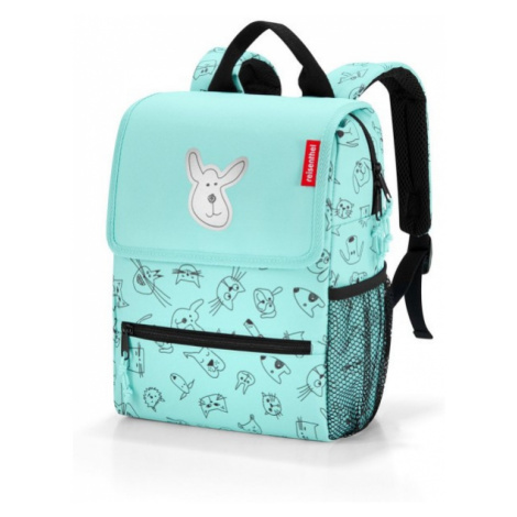 Dětský batoh Reisenthel Backpack kids Cats and dogs mint