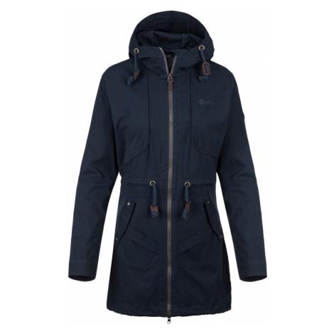 KILPI Dámský kabát PAU-W KL0332KIDBL Tmavě modrá