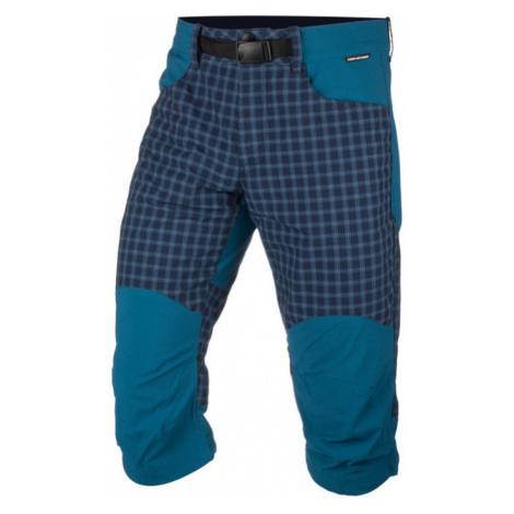 NORTHFINDER RUDHJI Pánské outdoorové šortky BE-3277OR387 modrá