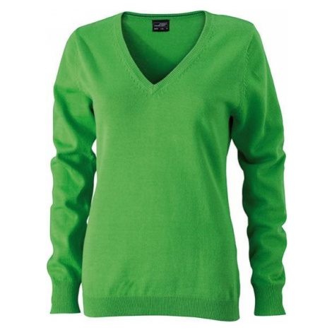 Dámský bavlněný svetr JN658 James & Nicholson