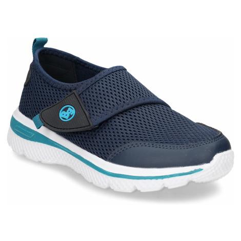 Modré dětské tenisky na suchý zip