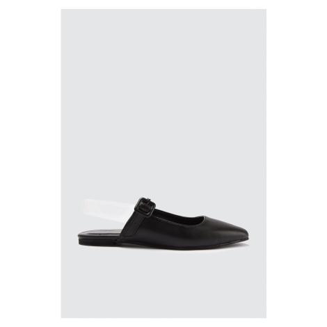 Trendyol Black Women's Flat Shoe