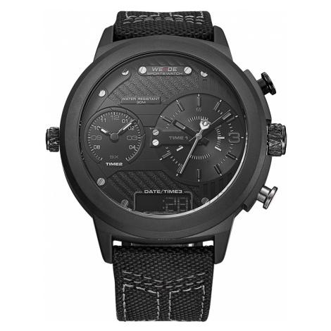Pánské náramkové hodinky Bander černé WEIDE