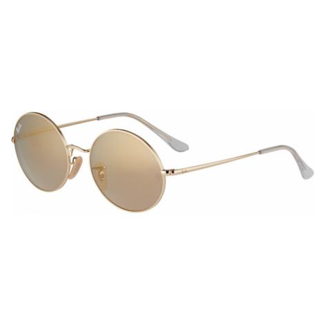Ray-Ban Sluneční brýle zlatá / šedobéžová