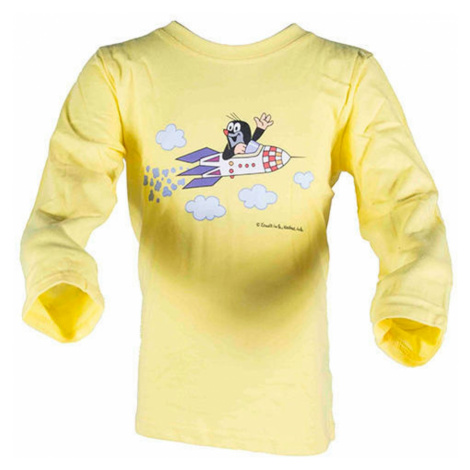 Pidilidi tričko chlapecké KRTEK ROCKET, Pidilidi, 2017, žlutá