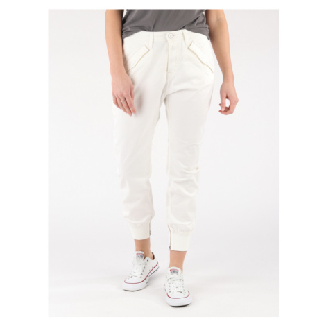 Kalhoty Replay W8837 Pantalone Bílá