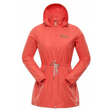 ALPINE PRO GOANITTA 2 Dámský kabát LCTN083339 tmavě oranžová