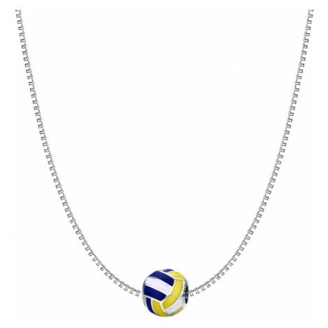 Linda's Jewelry Stříbrný náhrdelník Volejbal INH083