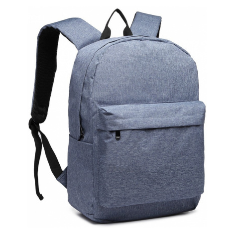 Modrý praktický studentský batoh Aksah Lulu Bags