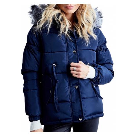 Dámská modrá zimní bunda BASIC
