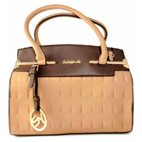 Dámská kabelka + psaníčko SALLY YOUNG hnědá