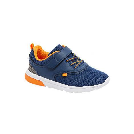 Modro-oranžové tenisky na suchý zip Victory Vty