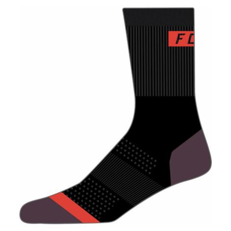 "Ponožky Fox Womens 6"" Flexair Merino Sock Black"