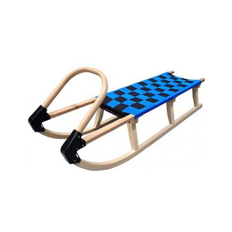Acra Sáně celodřevěné 125 cm modré
