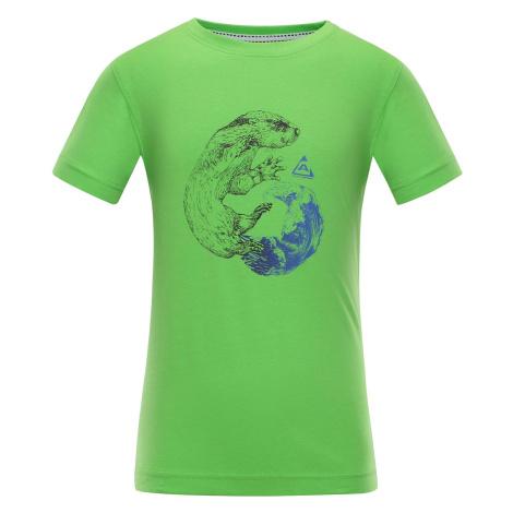 Dětské triko Alpine Pro NEJO - zelená
