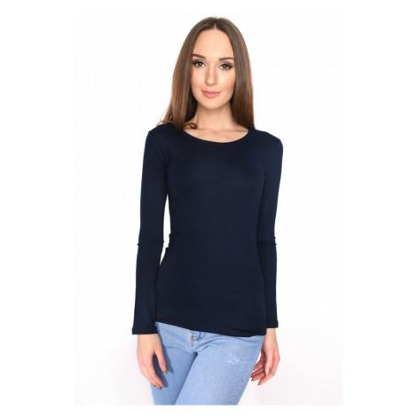 Granátové tričko s dlouhým rukávem Oxyd