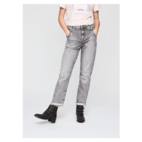 Pepe Jeans dámské šedé džíny Hanze