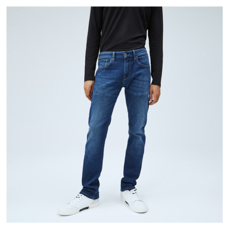 Pepe Jeans pánské modré džíny Cash