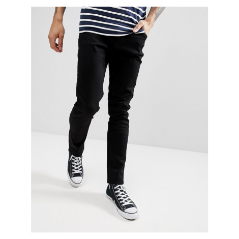 Weekday Friday slim jeans in black