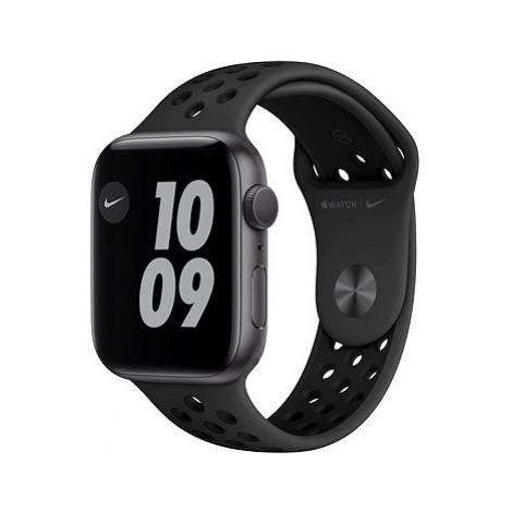 Apple Watch Nike Series 6 40mm Vesmírně šedý hliník s antracitovým/černým sportovním řemínkem Ni
