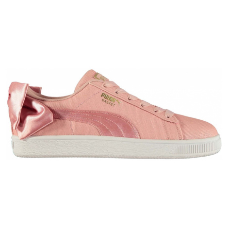 Puma Suede Bow Shimmer Trainers